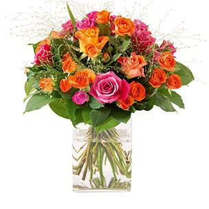 bouquet de fleurs 18 ans