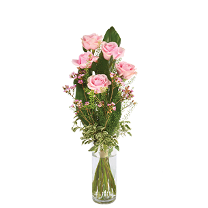 Bouquet de roses Flamingo Collection Remerciements