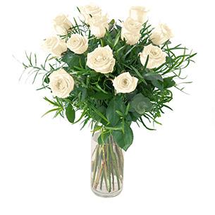 Glossy blanc - interflora