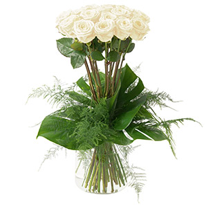 Idylle blanc - interflora