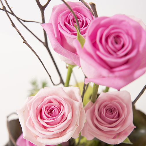 Bouquet de roses Heureux événement