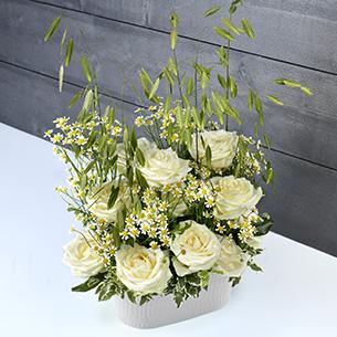 Bouquet de roses Nid d'ange