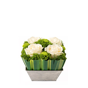 Bouquet de roses Ouate Naissance maman