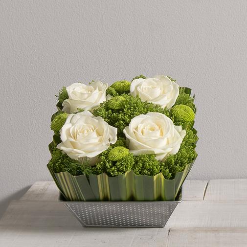 Bouquet de roses Ouate