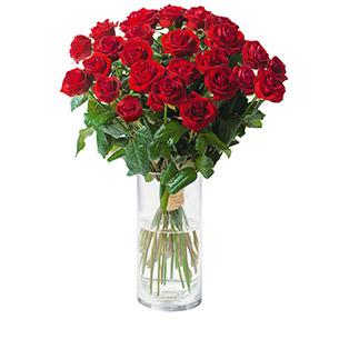 Bouquet de roses Passion Saint-Valentin