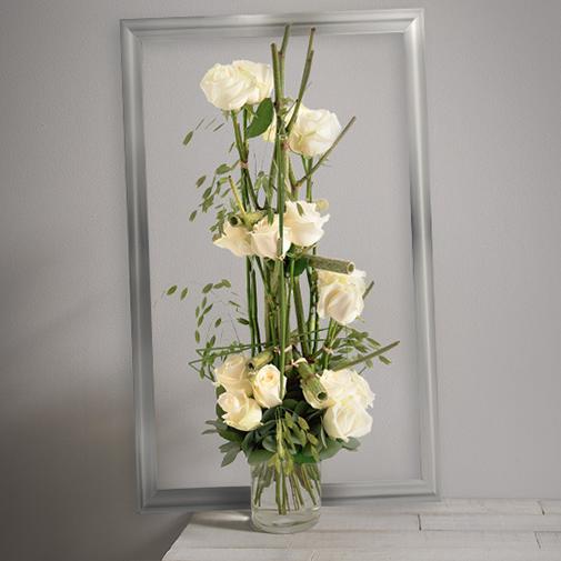 Bouquet de roses Plume