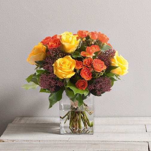 Bouquet de roses Panache