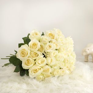 Bouquet de roses Pure sensation