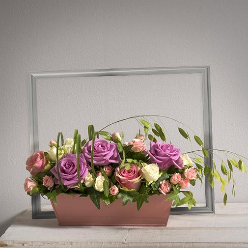 Bouquet de roses Romance