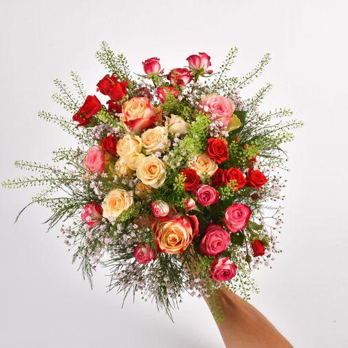 Bouquet de roses Rose cerise