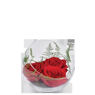 Bouquet de roses Rouge éternel