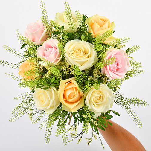 Bouquet de roses Rose melba