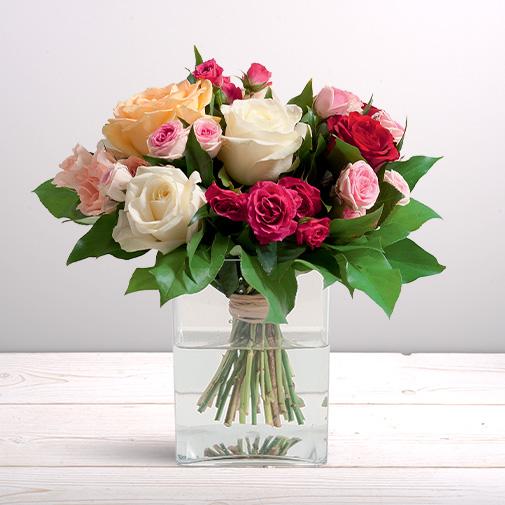 Bouquet de roses Bouquet de grandes roses