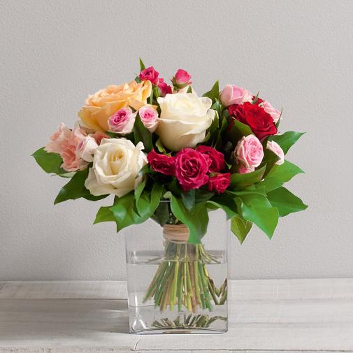 Bouquet de roses Sentiment