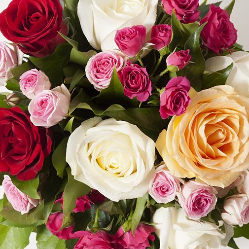 Bouquet de roses Instant de fête