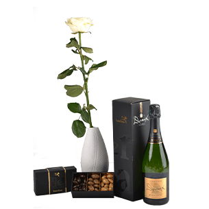 Bouquet de roses Trio festif Collection Homme Festif