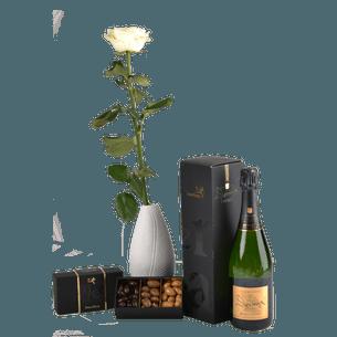 Bouquet de roses Trio festif Collection Homme Festif
