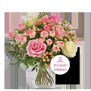 Bouquet de roses Rose magazine Noël