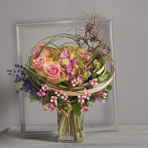 Bouquet de fleurs Arabesque