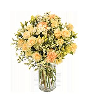 Bouquet de fleurs Auréal Fleur jaune