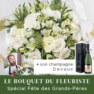 Bouquet de fleurs Le bouquet festif du fleuriste spécial Fête des grands pères