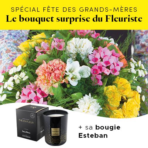 Bouquet de fleurs Le bouquet étincelant du fleuriste