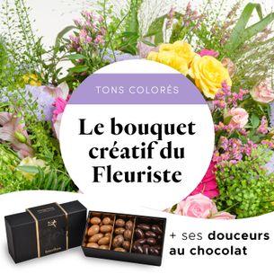 Bouquet de fleurs Bouquet gourmand du fleuriste Pâques
