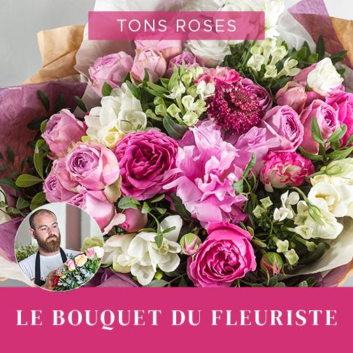 Bouquet de fleurs Bouquet du fleuriste Rose Fête des Mères