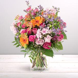 Bouquet de fleurs Bohème Collection Homme Romantique