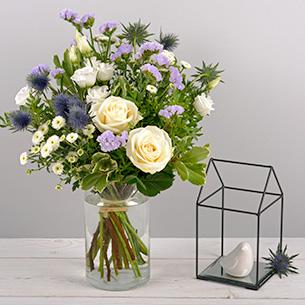 Bouquet de fleurs Blueberry Fête des Célibataires
