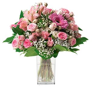 Bouquet de fleurs Bonheur Cadeau Anniversaire