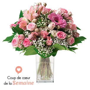 Bouquet de fleurs Bonheur Fleur pastel