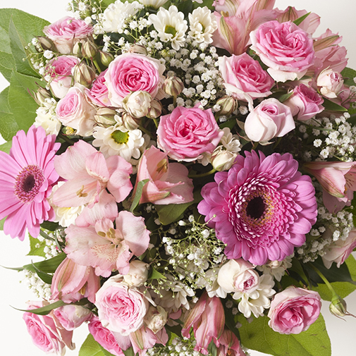 Bouquet de fleurs Bonheur