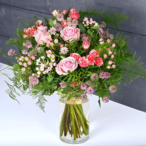 Bouquet de fleurs Bonbonnière