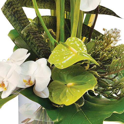 Bouquet de fleurs Céleste