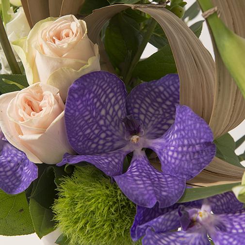 Bouquet de fleurs Comète