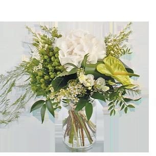 Bouquet de fleurs Diamant Mariage