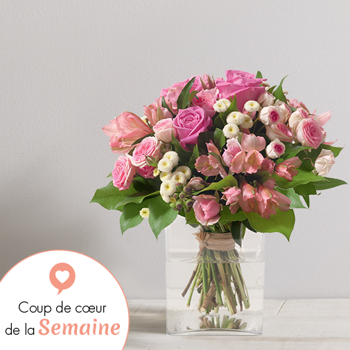 Bouquet de fleurs Douceur