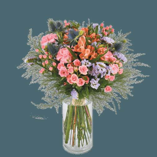 Bouquet de fleurs Flanelle
