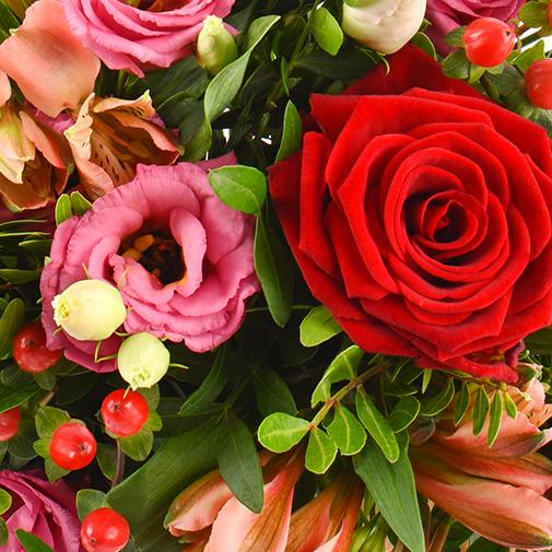 Bouquet de fleurs Frimousse