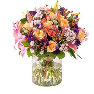 Bouquet de fleurs Gala Félicitations