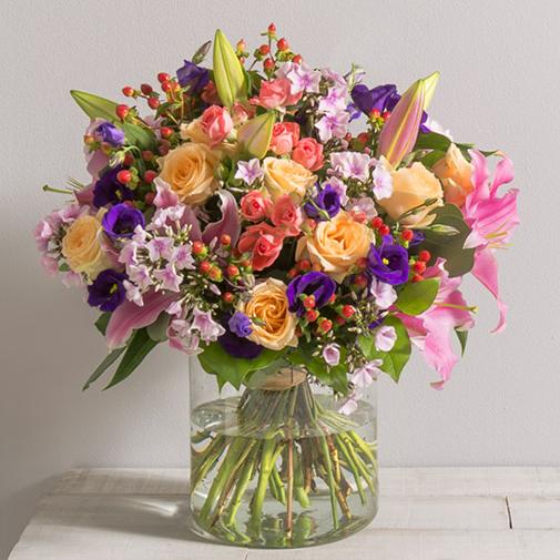 Bouquet de fleurs Gala