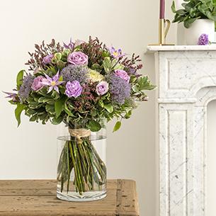 Bouquet de fleurs Jardin secret Mariage