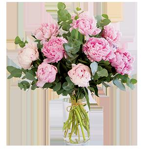 Bouquet de fleurs Nos belles pivoines