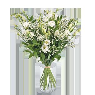 Bouquet de fleurs Plumetis Mariage