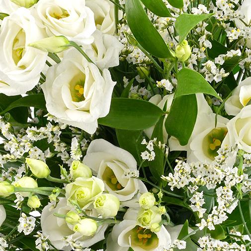 Bouquet de fleurs Plumetis