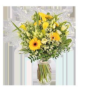 Bouquet de fleurs Pop Fleur jaune