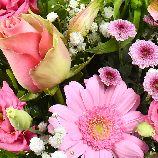 Bouquet de fleurs Rosalie