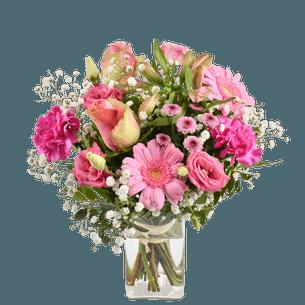 Bouquet de fleurs Rosalie Fête des Mères