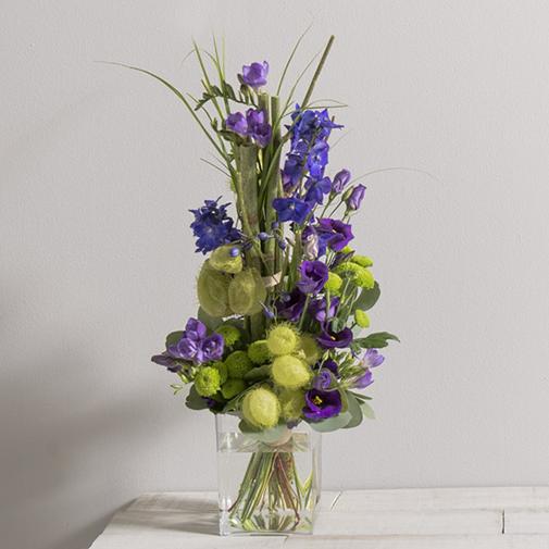 Bouquet de fleurs Saphir